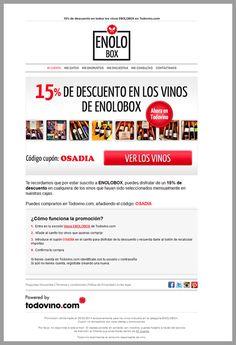 Análisis de newsletter Enolobox (CTAs) http://blgs.co/853Pjm