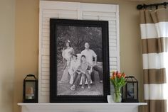 great family portrait idea!