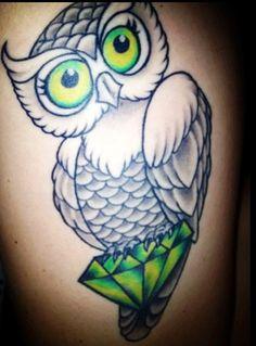 Coolest owl tattoo #owl #tattoo #tattoos