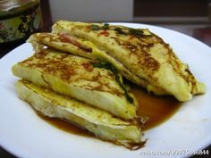 Taiwanese Ham and cheese French toast