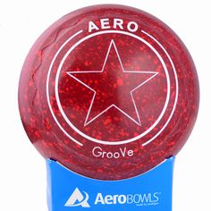 Aero GrooVe lawn bowls with star logo and Z-Scoop grip.