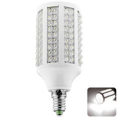 Sencart E14 11W 180 LEDs Energy Saving LED Corn Light Bulb (White Light 1250LM AC85 – 265V)