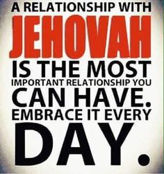 """""""Draw close to God, and he will draw close to you.""""— James 4:8 https://www.jw.org/en/publications/magazines/w20150415/how-real-your-relationship-with-jehovah/"""