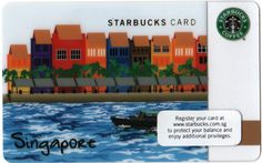 Singapore Starbucks Card - Closer Look!