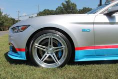 Is this the perfect way to celebrate Richard Petty's 80th birthday? The Petty's Garage 80th Tribute Edition Ford Mustang GT is powered by a 825HP Whipple-supercharged Coyote V8 and rides on Petty's Garage adjustable coilovers, Petty's Garage 3-way adjustable sway bars, and 20x10/20x11 #Forgeline SC3C-SL concave stepped lip wheels finished with Hyper Silver/HTM centers and Polished outers! See more at: http://www.forgeline.com/customer_gallery_view.php?cvk=1818 #Ford #Mustang #PettysGarage
