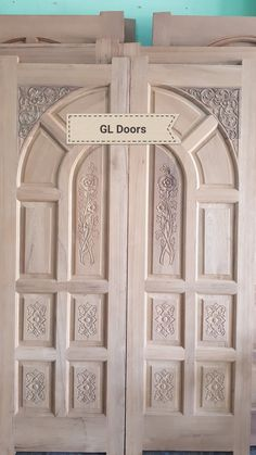 Wooden Doors With Gl