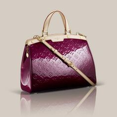 Purple handbag Louis Vuitton