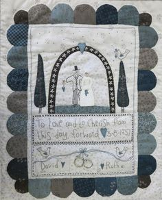 Wedding sampler by Lynette Anderson