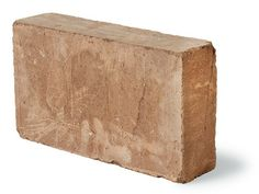Compressed earth block - compacted and dried to form a hard brick.