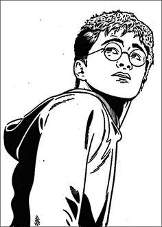 Kleurplaat - Kleurplaten Harry Potter 49