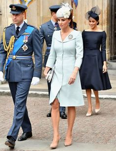 The Royal Family attended the RAF100 service at Westminster Abbey