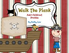 A fun way for your students to build addition and subtraction fact fluency! In this set of 22 Pirate theme games, students practice their basic ad. Pirate Day, Pirate Theme, Math Literacy, Math Classroom, Classroom Ideas, Maths Games Ks2, 1st Grade Math, Second Grade, Fourth Grade