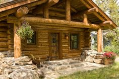 View the finest exteriors of rustic log cabins, timber frame cabins, western contemporary and modern homes built by true craftsmen. Description from tetonheritagebuilders.com. I searched for this on bing.com/images