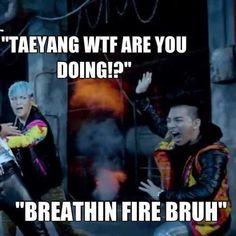 Big Bang: T.O.P and Taeyang. XD (My Oppa & Sun. <3) [K-pop]