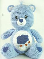 Grumpy Bear! The Vintage Toy Chest: Crochet Patterns