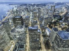 The Downtown Seattle Association took a victory lap at its annual meeting, but keynote speaker Bruce Katz said there's a few things Seattle must now do. Downtown Seattle, Business Magazine, Keynote Speakers, City Photo, Times Square, World, Travel, Viajes, Trips