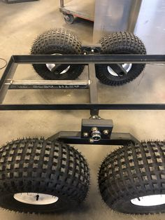 Quad Trailer, Log Trailer, Trailer Plans, Trailer Build, Utv Trailers, Trailer Axles, Moving Trailers, Welding Trailer, Metal Projects