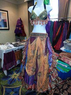 Belly Dancing, Arabian or Middle Eastern Inspiration for figure skating dresses Sk8 Gr8 Designs