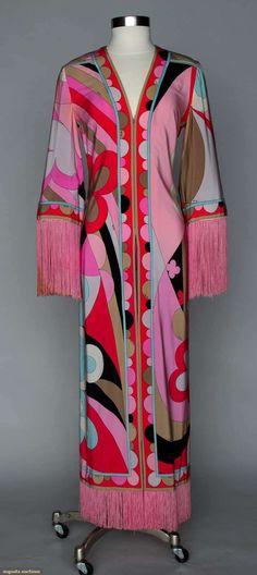 Augusta Auctions, April 17, 2013 - NEW YORK CITY: Pucci Jersey Jumpsuit, 1970s