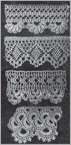 pretty crocheted edging: