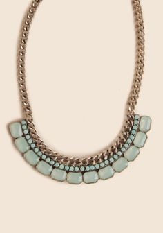 Caddington Manor Jeweled Necklace at Ruche @Ruche
