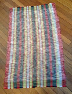 New Kitchen mats woven by me!