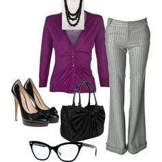 """""""Sexy Librarian"""" by mrstfool on Polyvore"""