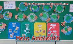 Projetos para Educação Infantil, Brinquedos e brincadeiras, lembrancinhas e planos de aula. Sistema Solar, Go Green, Pre School, Preschool Activities, Kindergarten, Recycling, Frame, Home Decor, Cultural