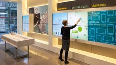 It's awesome and creative way to promotion. Umpqua Retail Experiences (San Francisco Flagship Store)