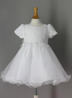f3394334821 FIN DE STOCK - Robe de baptême bébé fille pas chère JESSICA de Boutique  Magique