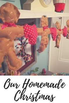 A Homemade Christmas Christmas Decorations For Kids, Holiday Crafts For Kids, Family Crafts, Easter Crafts For Kids, Holiday Ideas, Holiday Decor, Holidays With Kids, Winter Holidays, Winter Fun
