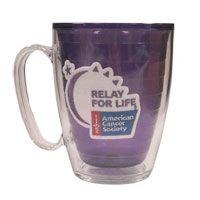 #RelayforLife 15 oz Amethyst Tervis Mug; $12.95