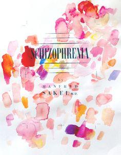 Schizophrenia 26 x 35 cm Watercolour & graphite on paper