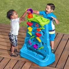 Step2 Waterfall Discovery Wall - Activity Toys Direct - TP Toys and Step2 Toys - Activity Toy Specialists for the UK