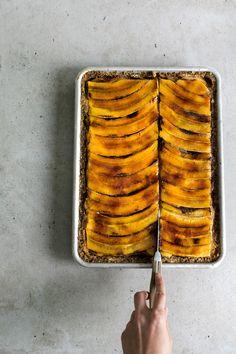 banana & peanut butter mascarpone pie