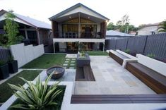 1000 images about contemporary gardens on pinterest for Courtyard landscaping brisbane