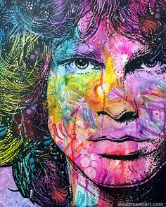 "JIM MORRISON ""THE END"" Original Art"