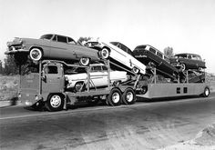 7-Car Convoy rig with 53 Fords