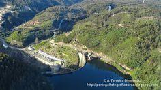 A Terceira Dimensão - Fotografia Aérea: Barragem de Bouçã