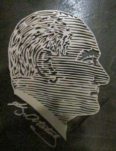 Mustafa Kemal Atatürk Scroll Saw, Special Day, Stencils, Pattern, Free, Patterns, Templates, Stenciling, Model