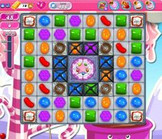 Candy Crush Level 486 Walkthrough  Target Clear all the jelly and reach 90000 points in 45 moves to complete the level.