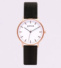 1d3b8c2db1 #MadeFromPiñatex Rose Gold watch by Votch Gold Face, Rose Gold Watches,  Sustainable Fabrics