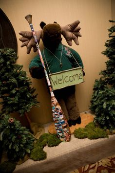 Camping Theme Welcome Photo Op - Beautiful Blooms Events