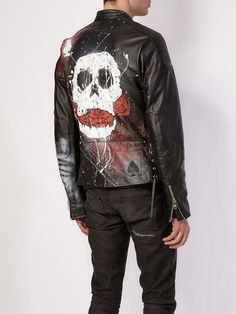 Shop Faith Connexion skull print leather jacket in L'Eclaireur from the world's best independent boutiques at farfetch.com. Shop 400 boutiques at one address.