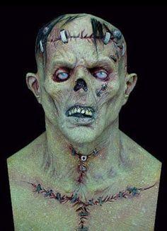 Frankenstein's Monster Halloween Mask $65 Back from the Grave