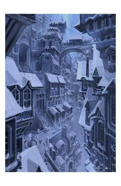 Official website of Visual Development artist Armand Serrano. Fantasy City, Fantasy Places, Fantasy Castle, Fantasy World, Dark Fantasy, Landscape Concept, City Landscape, Fantasy Landscape, Fantasy Concept Art