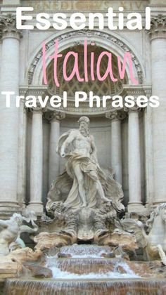 Travel Phrases To Learn Before Your Trip Essential phrases to learn before visiting Italy.Essential phrases to learn before visiting Italy. Italy Travel Tips, Rome Travel, Travel Abroad, Overseas Travel, Travel Trip, Travel Luggage, Places To Travel, Places To Go, Vacation Places