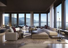 the penthouse park tower zug switzerland luxury hotel penthouses living perfect