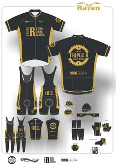 triple R cycling shirt fietskleding shorts @hn3k.be