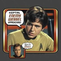 Star Trek Chekov Enemy Wessel T Shirt